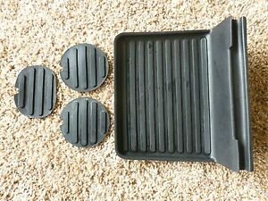 02 05 Ford Explorer Mountaineer Rubber Tray Liner Center Console Cup Holder