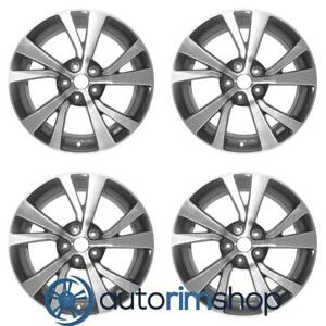 New 18 Replacement Wheels Rims For Nissan Maxima 2016 2018 Set Machined With Ch