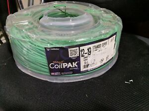 Southwire 1000 Ft 12 Awg Stranded Green Copper Wire Coil Simpull Thhn 12 19