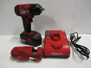 Snap On Ct4418 3 8 18v Cordless Impact W Battery And Charger