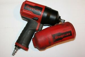 Snap on Tools 1 2 Drive Air Impact Wrench Super Duty Pt850 Comes W boot Usa