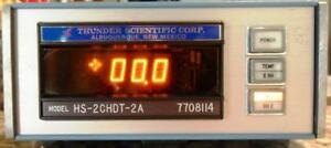 Vintage Thunder Scientific Humidity Generator Module Model Hs 2chdt 2a 7708114