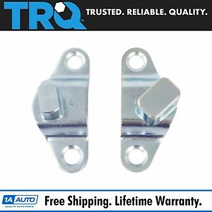 Trq Body Mounted Tailgate Hinge Pair Set For Silverado Sierra Colorado Canyon