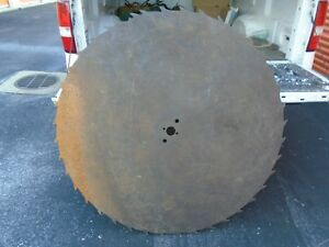 Large Sawmill Buzz Saw Blade 50 Diameter Ice Cutting Huge Heavy