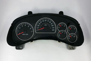 2005 Gmc Envoy Xl Speedometer Gauge Cluster 10356457 Without Info Center Dic