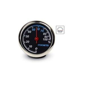 Car Ornament Automotive Clock Thermometer Hygrometer Home Automobiles Watch