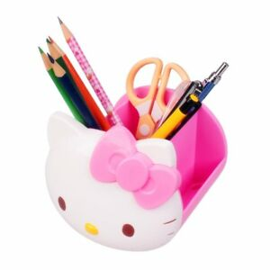 Desk Organizer Tospania Multi Functional Hello Kitty Office Accessories Pink