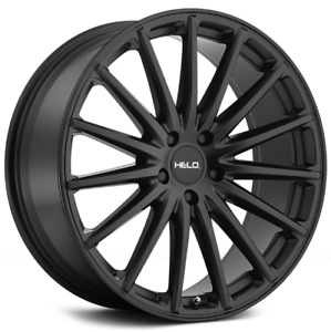20 Inch Helo 894 Satin Black 4 Wheels 4 Tires 5x4 5 5x114 3 Camry Avalon