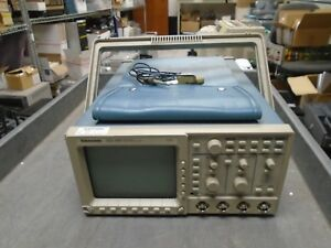 Tektronix Tds460 Digital Oscilloscope 350 Mhz 100ms s 4 Ch With P6138a Probe