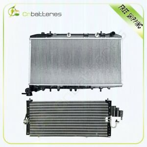 For 1991 1993 Nissan Nx 1 6l Ac Condenser radiator Assembly 4322 1317