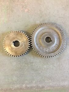 South Bend 9 10k 40 Tooth And 56 Tooth Stud Gears 32k56nk1