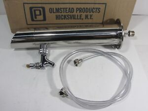 New Single Bar Draft Beer Tap Tower Olmstead Products Corp Model 153 S