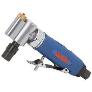 Central Pneumatic 1 4 In Led Air Angle Die Grinder Built in Led Light For Use