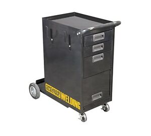 New Welding Cabinet With Drawers Flux Mig Tig Tank Wheels Plasma L k