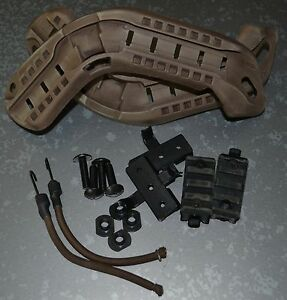Used ACH-ARC Helmet Accessory Picatinny Rail Kit Mich Fast Ops core Maritime