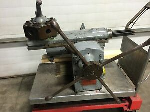 South Bend 16 Powered Turret Tailstock Fits Metal Lathe 6 Position With Stops