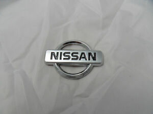 New For Nissan Chrome Steering Wheel Center Badge Logo Free Shipping