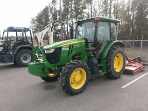 2015 John Deere 5085e Tractor 85 Hp W cab Heating Ac Warranty Last One