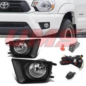 For Toyota 12 15 Tacoma Oe Style Bumper Driving Lamps Fog Lights W Switch bulbs