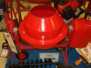 New 1 1 4 Cu Ft Electric Cement Concrete Stucco Mixer