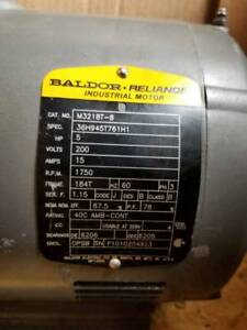 Baldor Electric Motor 5hp