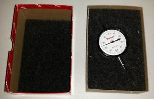 Starrett 25 141j Dial Indicator 0 250 Range Made In Usa