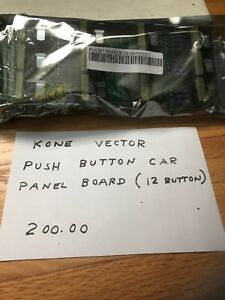Kone Vector Push Button Car Panel Board 12 Button