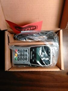 First Data Fd35 Pin Pad Emv Ready Apple Pay Nfc Fd 35 Set To Use W Fd130duo