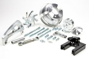 March Performance 23005 Aluminum Serpentine Pulley Kit Fits Big Block Chevy