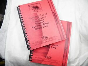 Ih International Engine 6 Cyl D282 To Dt466 Parts Books By Jensales