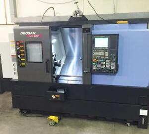 Doosan Lynx 220lyc 2014 Y axis Live Milling 8 Chuck 770 Cut Hours must See