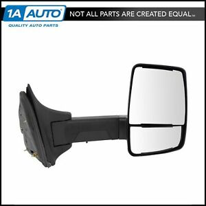 Mirror Manual Velvac Style Textured Black Passenger Right Rh For 11 16 Ford Sd