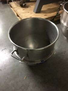 Hobart Genuine Vmlhp40 40 Qt Quart Commercial Mixer Mixing Bowl Stainless Steel
