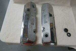 Ford Racing Performance Sbf 289 302 351w Polished Aluminum Valve Covers