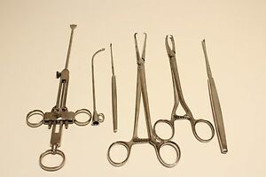 Art Deco Rare Collectible Germany Ww2 Medical Doctor Surgical Tools Aesculap