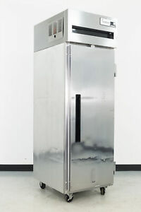 Used Delfield 6025xl s 1 Door Top Mount Reach in Refrigerator