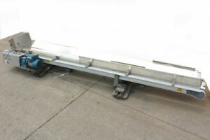Flexlink Dual v Table Top Conveyor System 10 X 1 75 Sew Eurodrive Gear Motor
