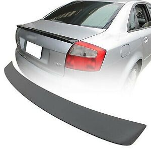 02 05 For Audi A4 B6 Abt Type 4dr Rear Boot Trunk Spoiler Wing