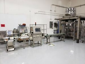 Triangle Form fill seal And Yamato 14 Head Scale Mettler Toledo Checkweigher