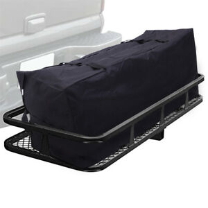 60 X20 Cargo Hauler Carrier Hitch Mounted Luggage Basket Bag