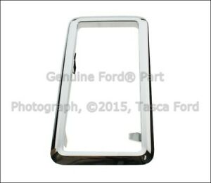 New Oem Floor Console Bezel Chrome Finish 2010 2013 Ford Mustang Ar3z 7e391 Aa