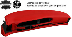 Red Leather Oval Dash Dashboard Cover For Porsche 944 968 86 95 Style 2