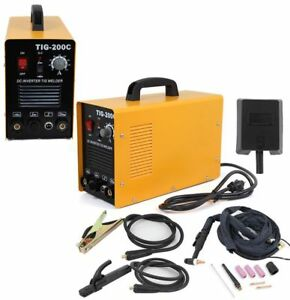 Tig200c Dc Inverter Tig Mma Welding Machine Welder Stainless carbon Argon Welder