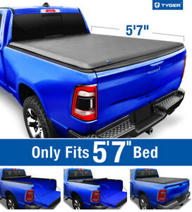 Fits 2019 2021 Ram 1500 No Classic 5 7 Bed Tyger T1 Roll Up Tonneau Cover