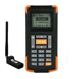 Mini Barcode Scanner Portable Warehouse Data Collector Rugged Wireless Handheld