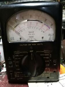 Triplett 630 a Analog Multimeter Sold As Is