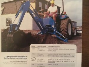 New Holland Backhoe Tractor Attachment