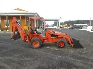Allmand Tbl425esl 2005 Farm Tractor Loader Backhoe