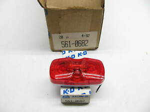 x20 Kd Lamps 561 Double Bulls eye Red 2 bulb Side Marker Clearance Light
