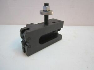 New Series 400 Ca Quick Change Knurling Turning Facing Tool Post Holder 14 20